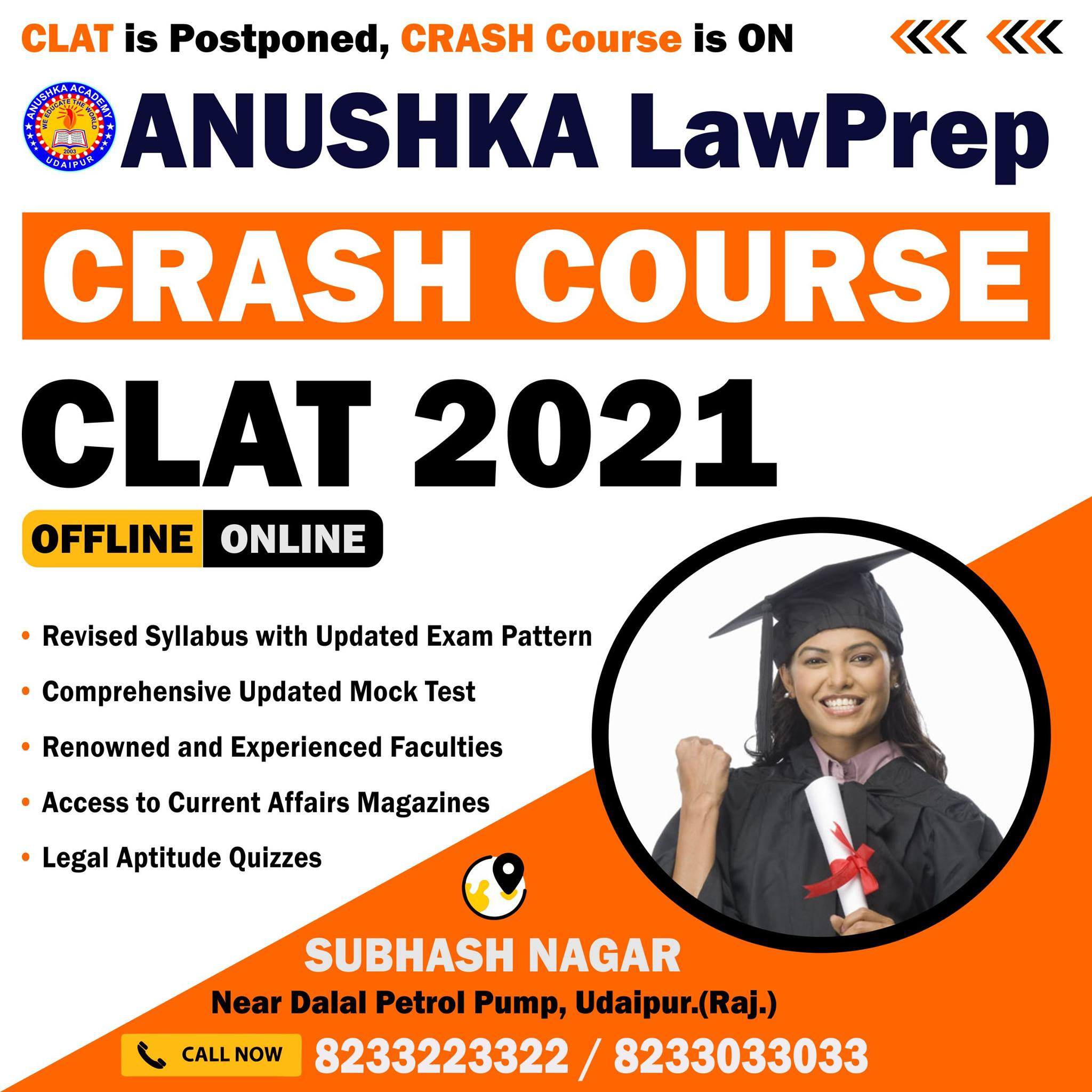CLAT Best Coaching In Udaipur