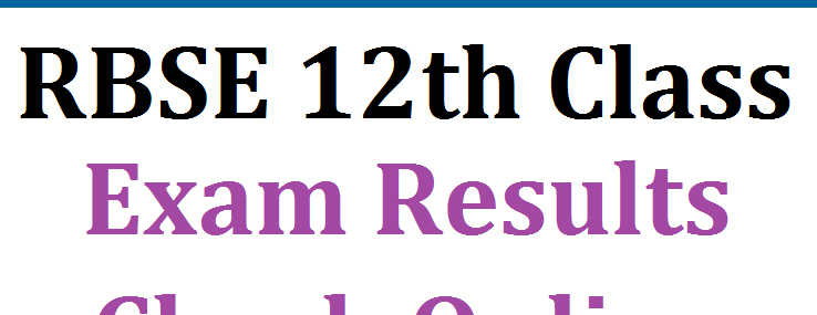 RBSE 12TH RESULT 2021