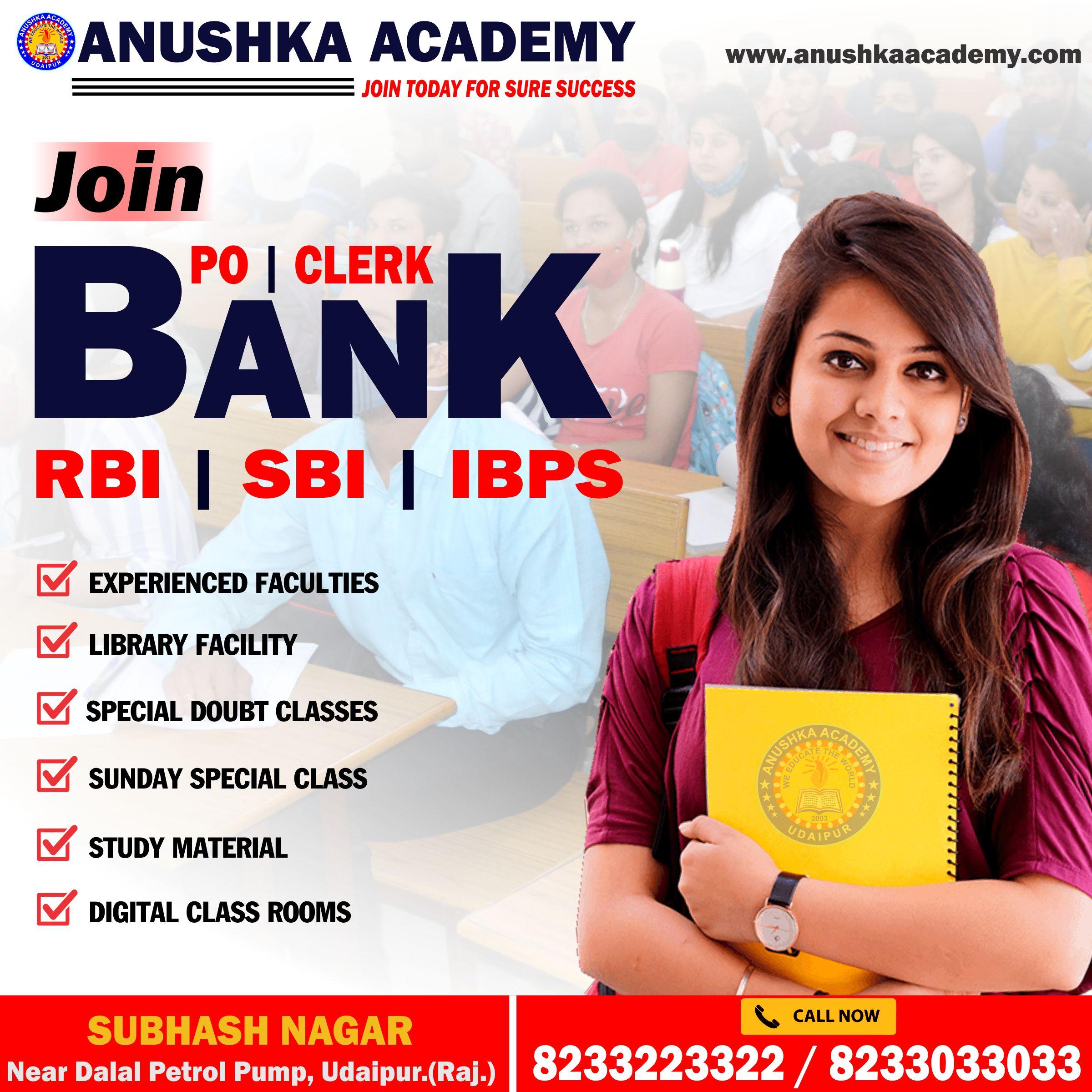 Bank Coaching In Udaipur