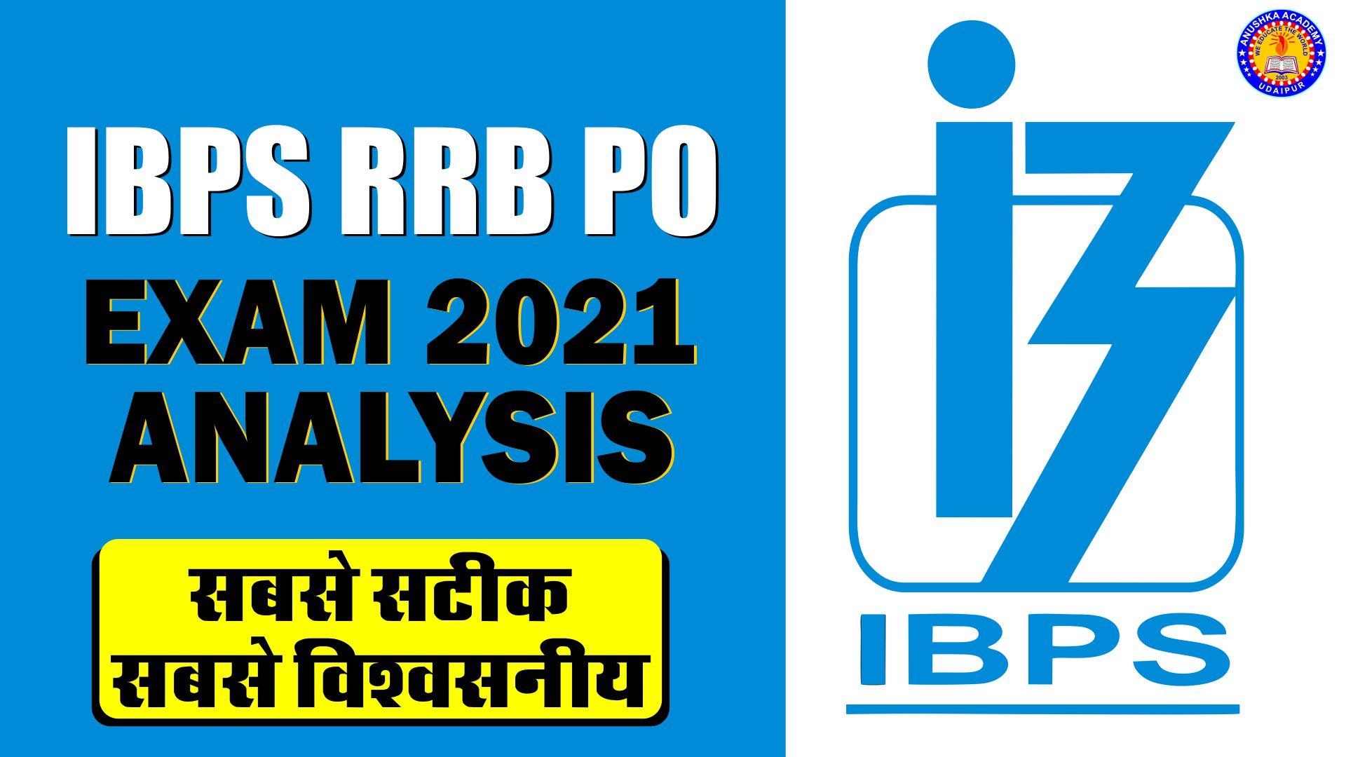 IBPS RRB Exam Analysis 2021